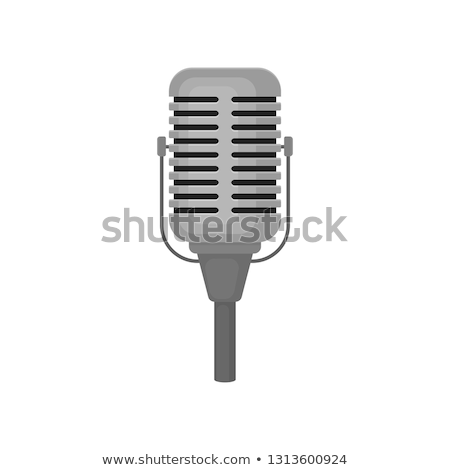 Stock photo: Classic Microphone