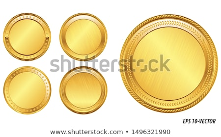 Blank coins Stock photo © haiderazim
