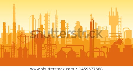 oil industry refinery scene stock photo © experimental