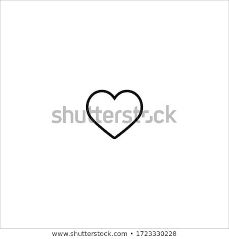 сердце символ любви Ислам мусульманских Аллах Сток-фото © Hermione