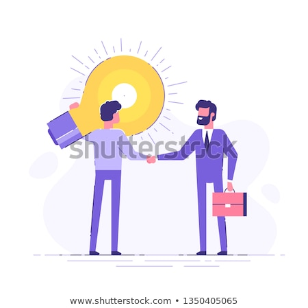 businessman offering briefcase stock photo © photography33