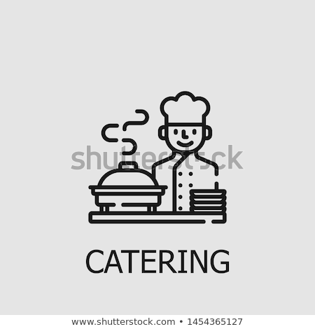 Hotel and restaurant staff icons Stock photo © Winner