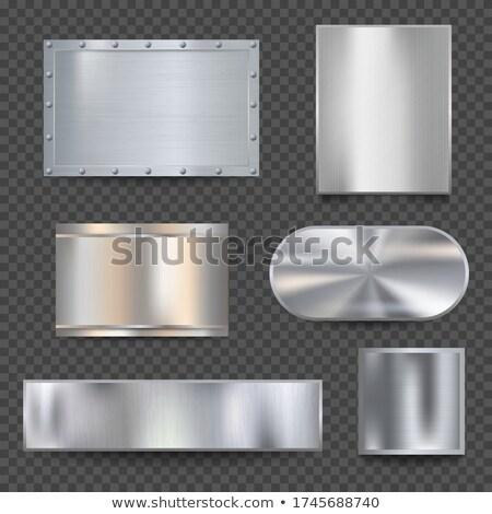 Cromo sfondo metal piatto digitale acciaio Foto d'archivio © kjpargeter