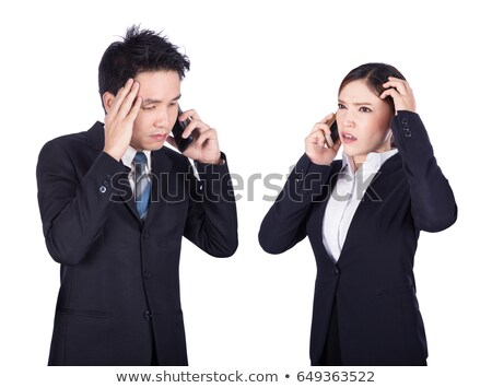 Stressful telephone call Stock photo © photography33