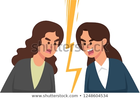 Businessman staring at an attractive woman Stock photo © photography33