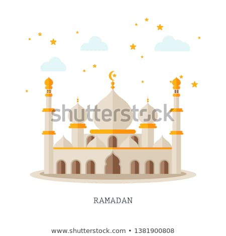 Ketupat and Mosque Stock photo © OneO2