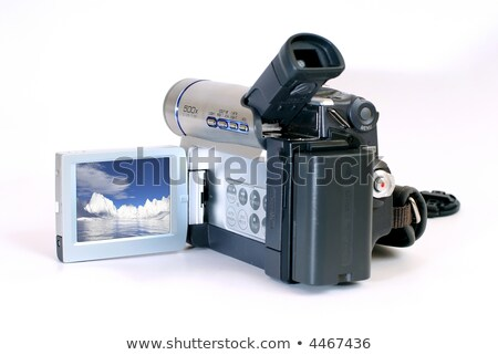 Consumer Camcorder with Clipping Path Stock photo © winterling