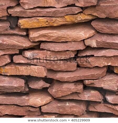 древних песчаник бесшовный текстуры поверхность стены Сток-фото © tashatuvango