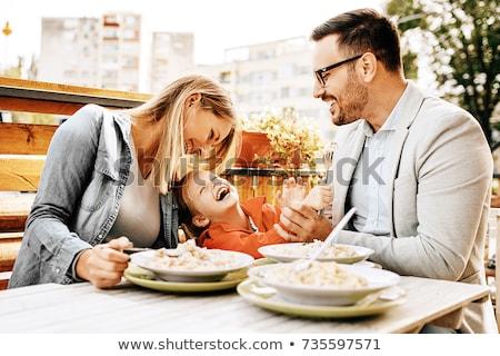 Family Restaurant  Stock photo © Lightsource