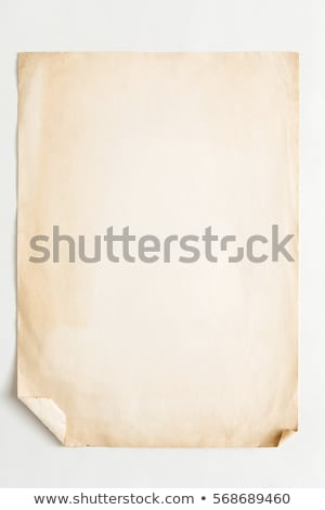 cardboard piece isolated on white background Stock photo © Zhukow