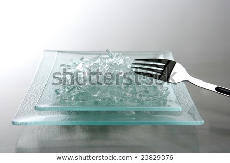 To eat today we have broken glass Stock photo © lunamarina