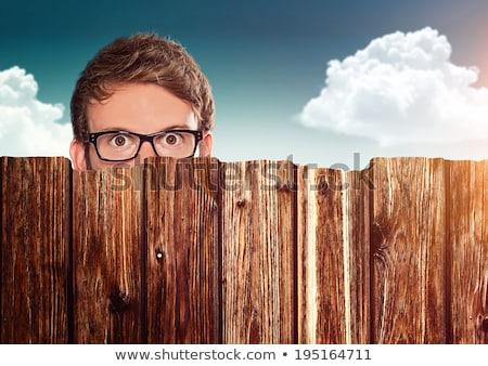 Peeping Tom Stock photo © bradleyvdw