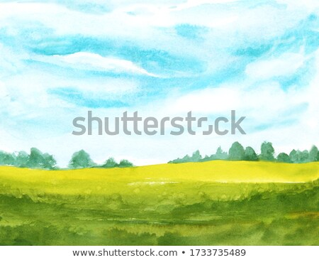 Rural scene background Stock photo © zzve