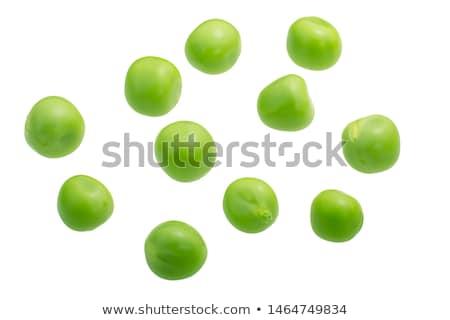 зрелый · растительное · зеленый · лист · изолированный · белый · продовольствие - Сток-фото © dar1930