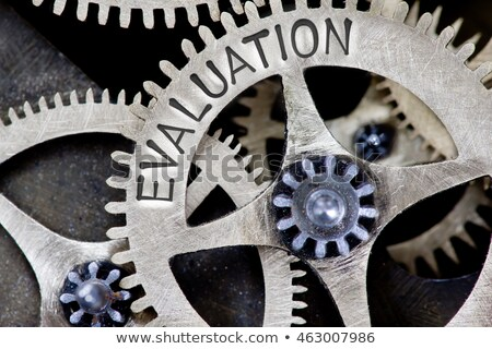 Review Word Shows Reviewing Evaluating Evaluate And Reviews Stock photo © stuartmiles