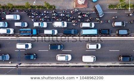 weg · auto · rijden · natuur - stockfoto © anterovium