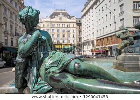 Providentia Fountain in vienna Stock photo © meinzahn
