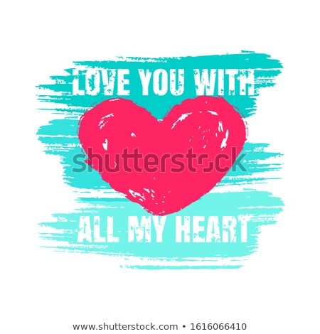 printable tshirt graphic  valentine stock photo © shawlinmohd