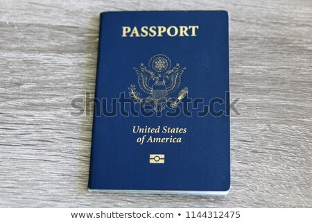 U.S. Passport with Microchip Stock photo © axstokes