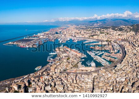 Genova aerial view Stock photo © Antonio-S