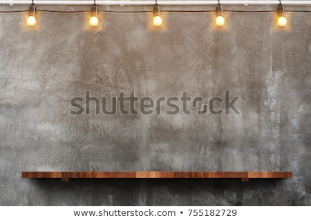 Stock photo: wall bar
