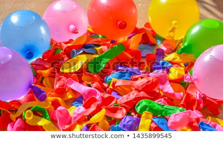 Colorful Deflated Water Balloons for Summer Fun Stock photo © ozgur