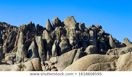 Pic mort vallée randonnée coucher du soleil Rock Photo stock © rmbarricarte