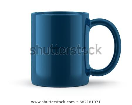 Blue cup  Stock photo © saransk