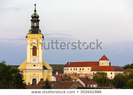 church of saint kunigunde cejkovice czech republic stock photo © phbcz