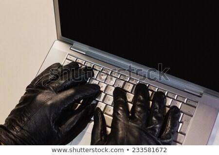 ladrón · casa · mano · casa · peligro · mal - foto stock © wavebreak_media