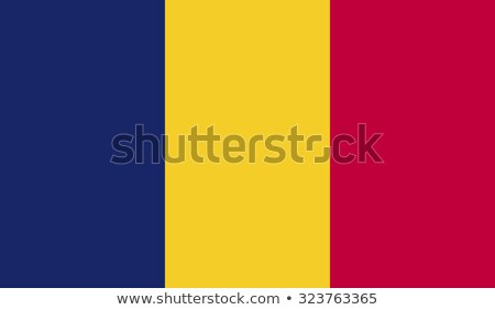 flag of Republic of Chad Stock photo © Istanbul2009