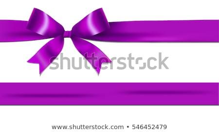 purple bow isolated on white  Stock photo © trinochka