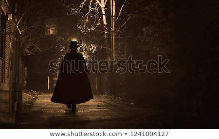 Jack the Ripper Silhouette Stock photo © Bigalbaloo