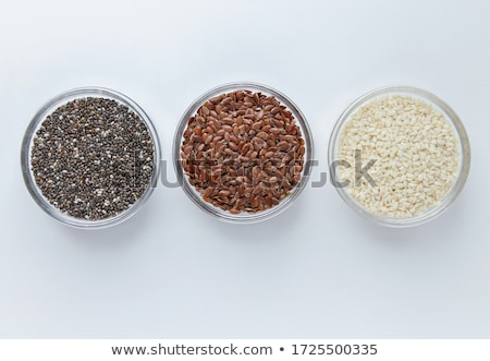 Organic Linseed or Flaxseed. Stock photo © ziprashantzi