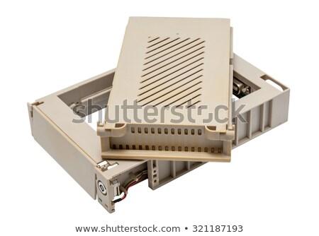 Elektronikus gyűjtemény használt öreg mobil hdd Stock fotó © nemalo