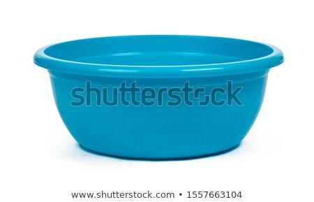 Stock photo: kitchen bucket isolated