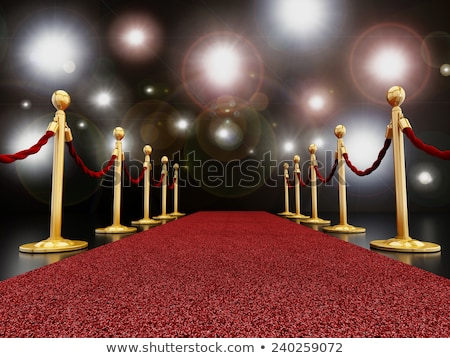 hollywood · andar · fama · estrela · arte - foto stock © Bigalbaloo