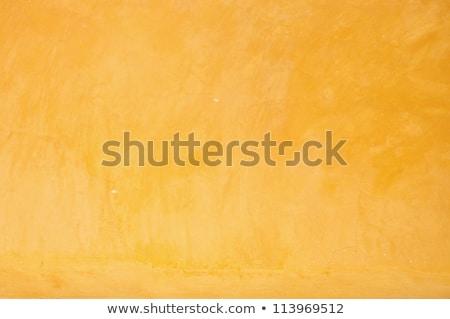 старые · оранжевый · окрашенный · стены · текстуры · свет - Сток-фото © lunamarina