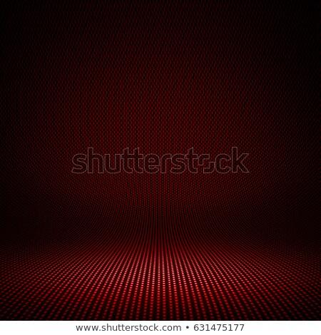 Rood · garen · witte · oppervlak · hart - stockfoto © homydesign
