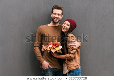 Elegant couple looking at the camera Stock photo © majdansky