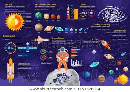 Space And Astronomy Infographics stock photo © Genestro