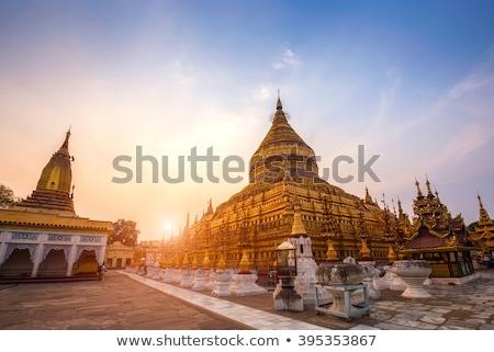 Dourado pagode Mianmar birmânia viajar ouro Foto stock © Mikko