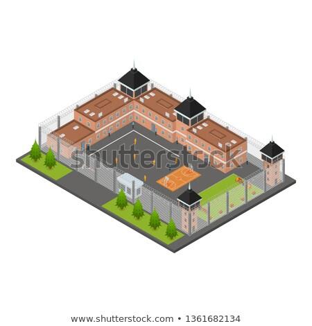 Prisoner 3D Character Stock photo © make