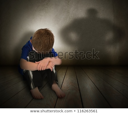 little boy represents anger.  Stock photo © fanfo