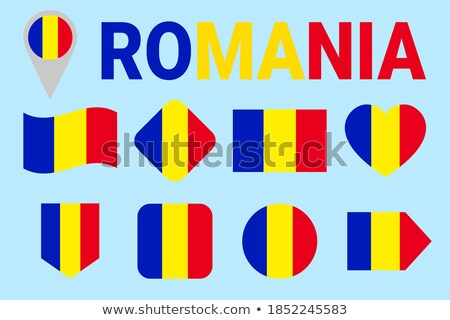 Transylvania flag button Stock photo © ojal