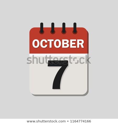 7th October Stock photo © Oakozhan