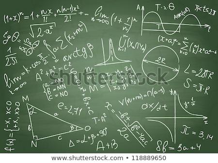 okul · tahta · kelime · öğrenmek · ahşap · masa · eğitim - stok fotoğraf © fuzzbones0