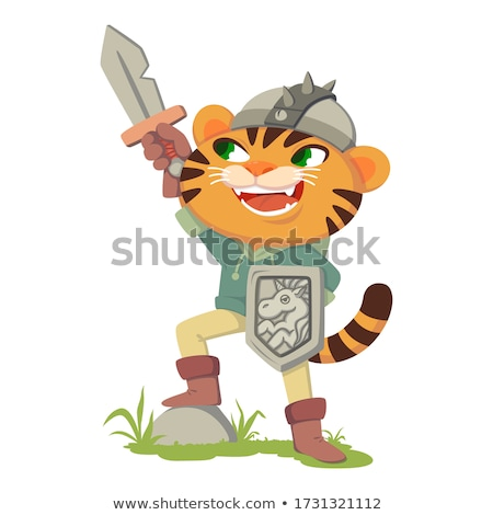 smart sword of the knight of the middle ages Stock photo © sibrikov