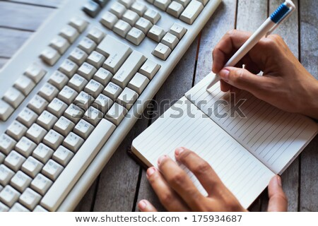 Computer keyboard do it Stock photo © Oakozhan