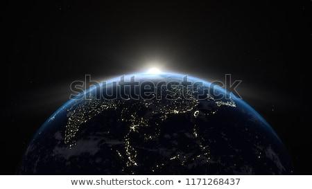 Shining earth Stock photo © orla